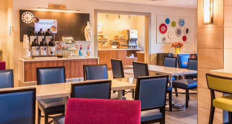 Holiday Inn Express Charleston US Hwy 17 & I-526-Newly Renovated Lobby and Breakfast Bar<br/>Image from Leonardo