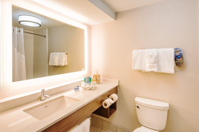 Holiday Inn Express Charleston US Hwy 17 & I-526-Guest Bathroom<br/>Image from Leonardo