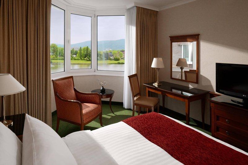 Marriott Heidelberg-King Waterview Guest Room<br/>Image from Leonardo
