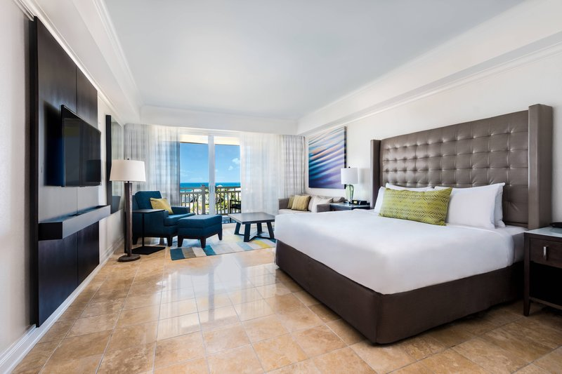 St. Kitts Marriott Resort-King Guest Room - Ocean View<br/>Image from Leonardo