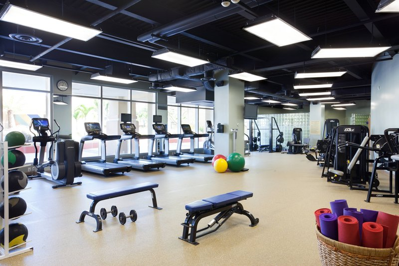 St. Kitts Marriott Resort-Fitness Center<br/>Image from Leonardo