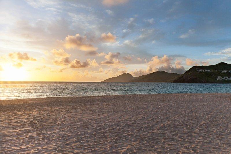 St. Kitts Marriott Resort-Beach Sunrise<br/>Image from Leonardo
