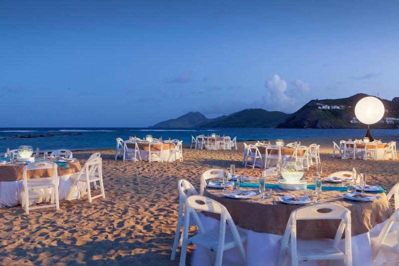 St. Kitts Marriott Resort-Beach Dinner Reception<br/>Image from Leonardo