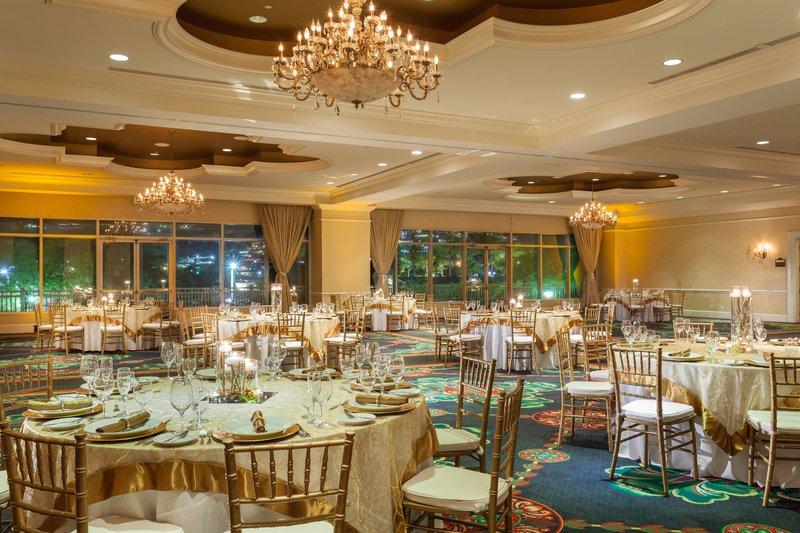 St. Kitts Marriott Resort-Royal Ballroom - Rounds Setup<br/>Image from Leonardo