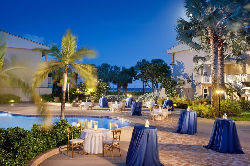 St. Kitts Marriott Resort-Pool Reception - Cocktail Setup<br/>Image from Leonardo