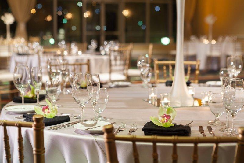 St. Kitts Marriott Resort-Indoor Wedding Setup<br/>Image from Leonardo