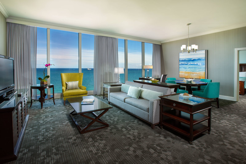 Courtyard by Marriott Fort Lauderdale Beach-Presidential Suite Parlor<br/>Image from Leonardo