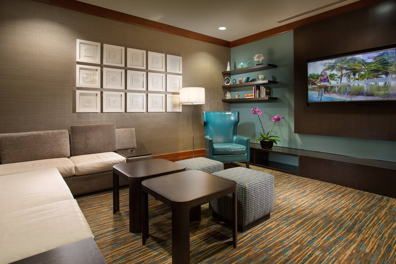Courtyard by Marriott Fort Lauderdale Beach-Television Theatre Lounge<br/>Image from Leonardo