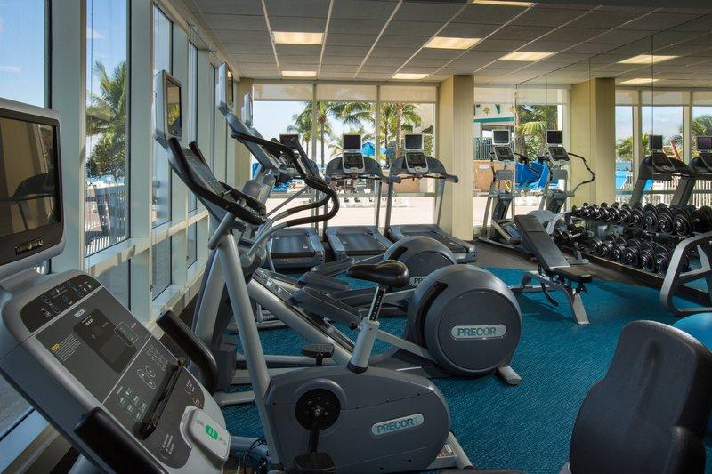 Courtyard by Marriott Fort Lauderdale Beach-Fitness Center<br/>Image from Leonardo