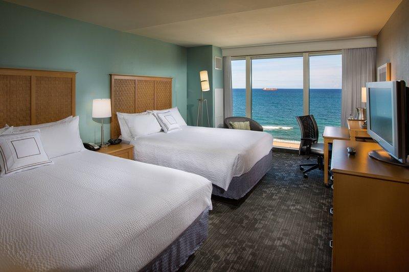 Courtyard by Marriott Fort Lauderdale Beach-Queen/Queen Guest Room - Oceanfront<br/>Image from Leonardo