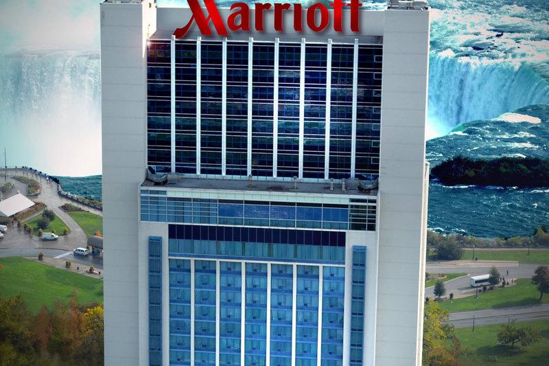 Marriott Niagara Falls on the Falls-Exterior<br/>Image from Leonardo