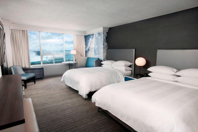 Marriott Niagara Falls on the Falls-Queen/Queen Fallsview Guest Room<br/>Image from Leonardo