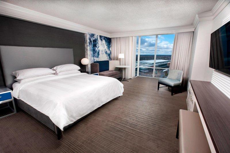 Marriott Niagara Falls on the Falls-City View King Guest Room<br/>Image from Leonardo