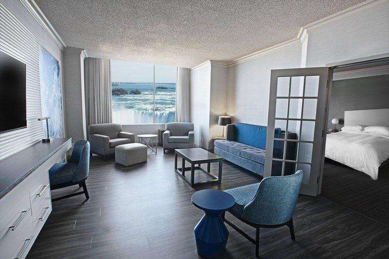 Marriott Niagara Falls on the Falls-One-Bedroom Presidential Suite<br/>Image from Leonardo