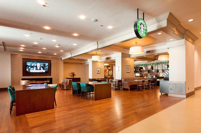 Marriott Niagara Falls on the Falls-Starbucks?<br/>Image from Leonardo