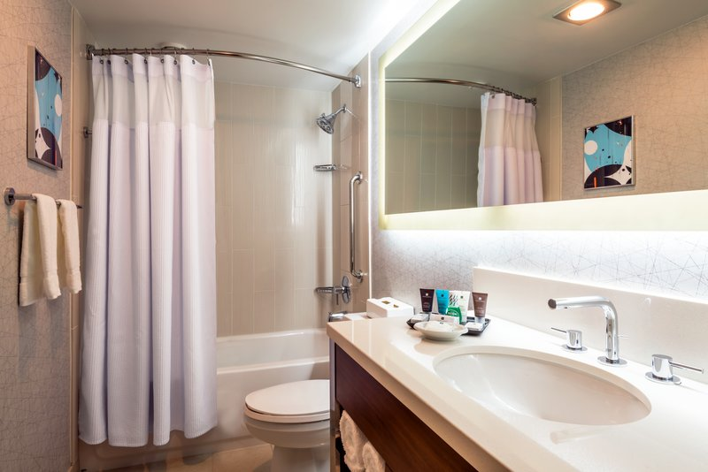 Crowne Plaza Seattle-Downtown-Newly renovated Guest Bathroom Temple Spa amenities<br/>Image from Leonardo