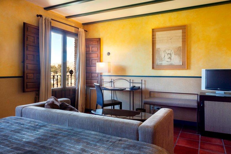 AC Hotel Ciudad de Toledo-King Guest Room - View<br/>Image from Leonardo