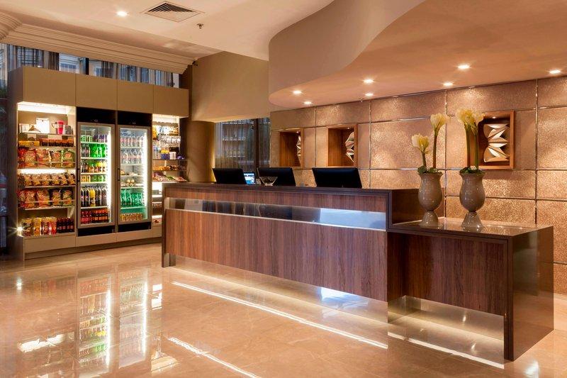 AC Hotel Nice-Reception Desk<br/>Image from Leonardo