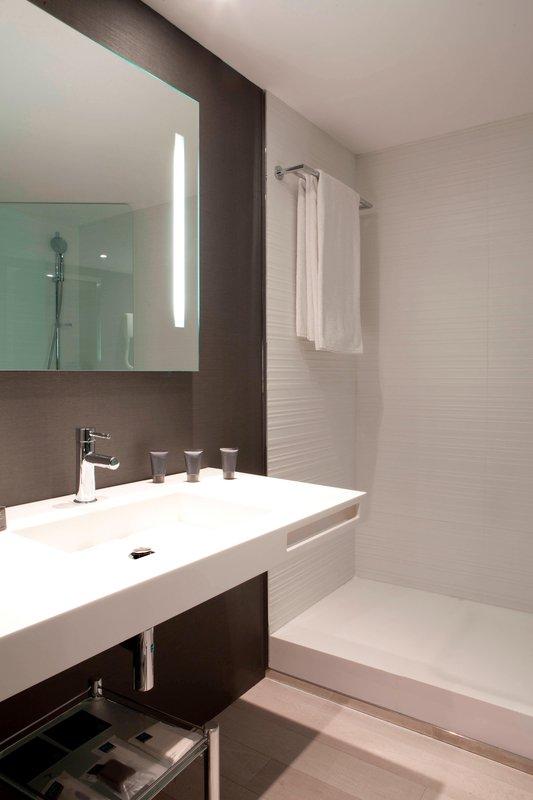 AC Hotel Nice-Suite Bathroom- Italian Shower<br/>Image from Leonardo