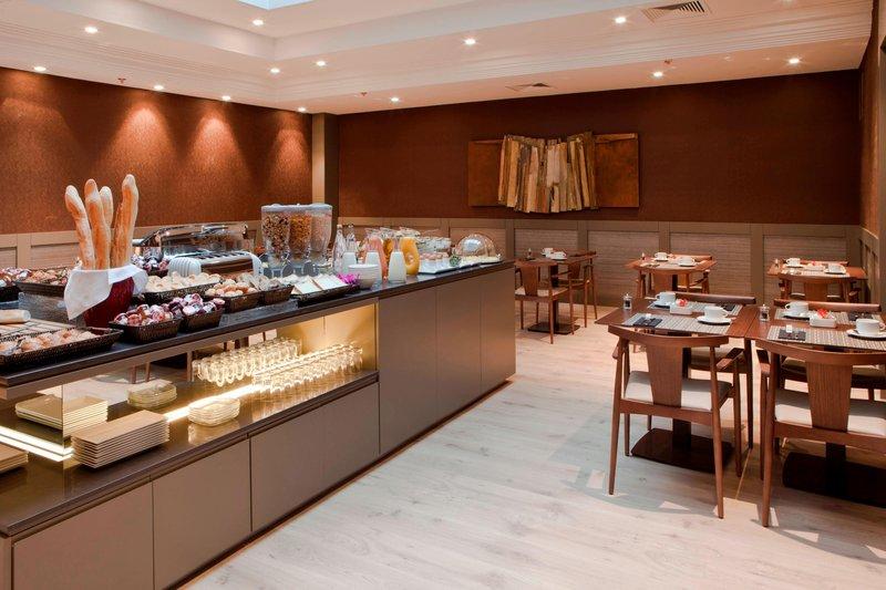 AC Hotel Nice-Breakfast Room<br/>Image from Leonardo