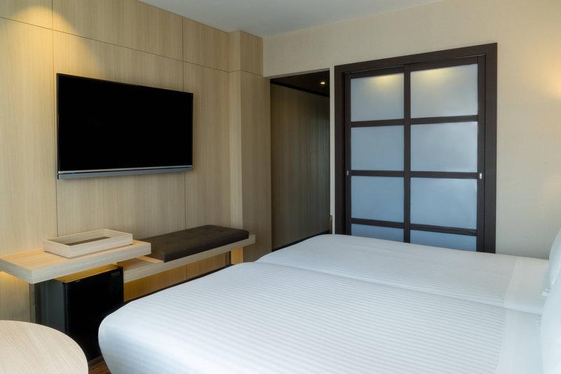 AC Hotel Ciutat de Palma-Standard Twin/Twin Guest Room<br/>Image from Leonardo