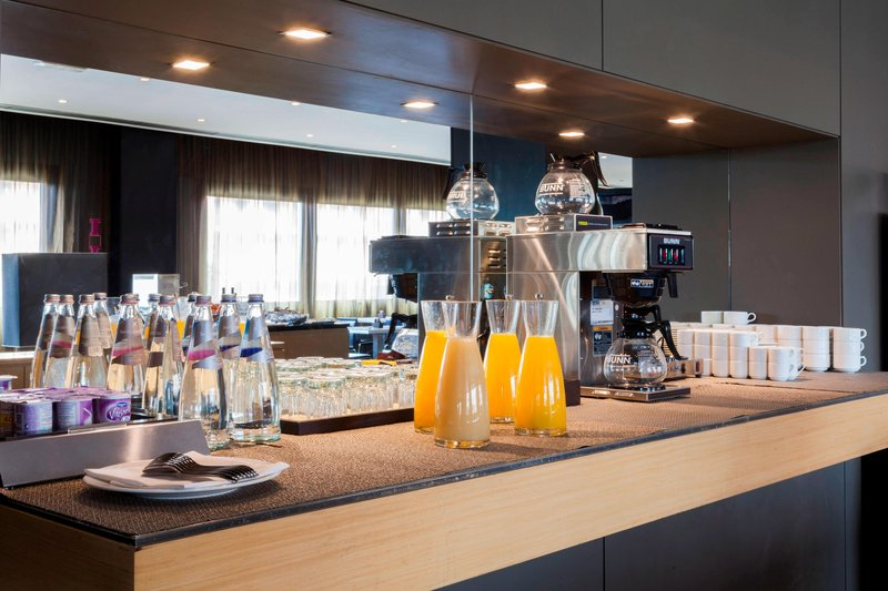 AC Hotel Pisa-Breakfast Buffet – Drink Station<br/>Image from Leonardo
