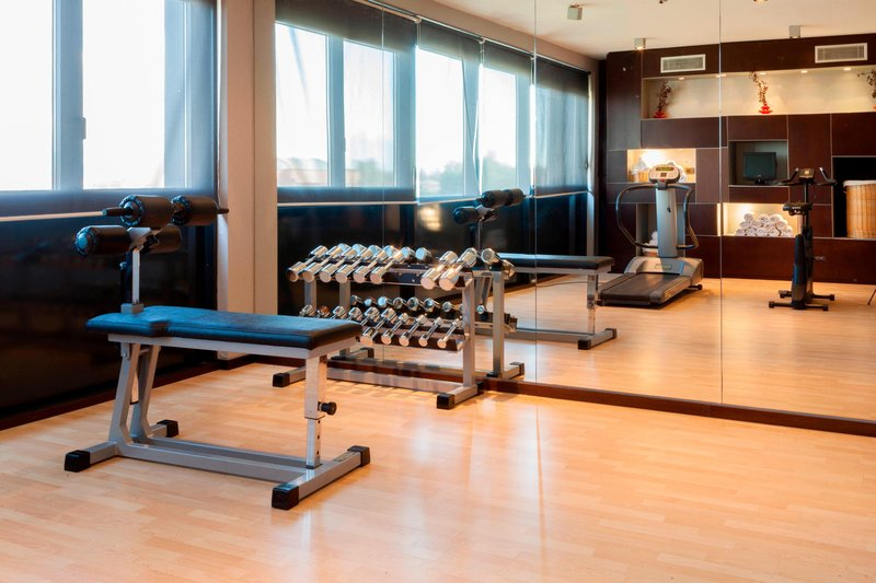 AC Hotel Pisa-Fitness Center<br/>Image from Leonardo