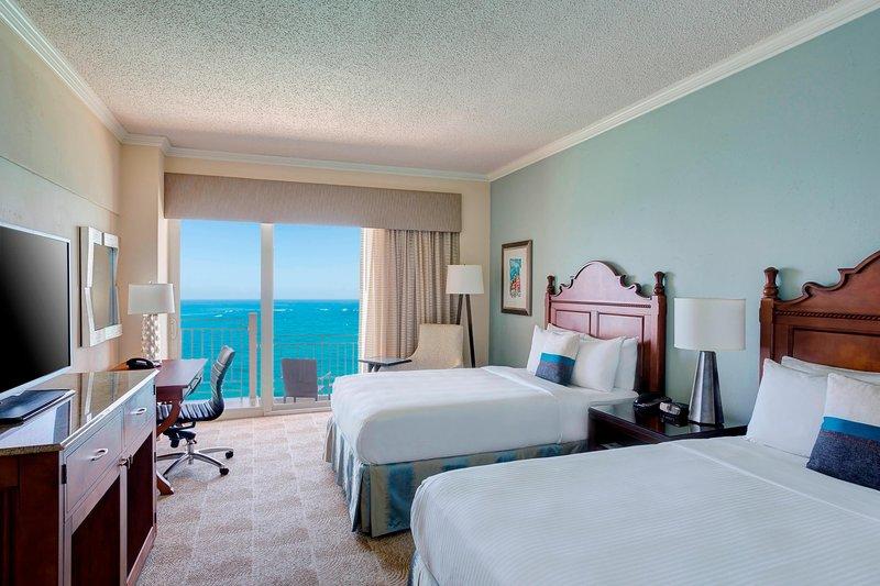 Marriott San Juan Resort - Double/Double Guest Room - Ocean Front <br/>Image from Leonardo
