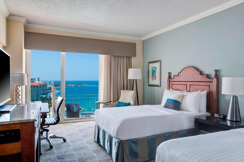 Marriott San Juan Resort - Double/Double Guest Room - Ocean View <br/>Image from Leonardo