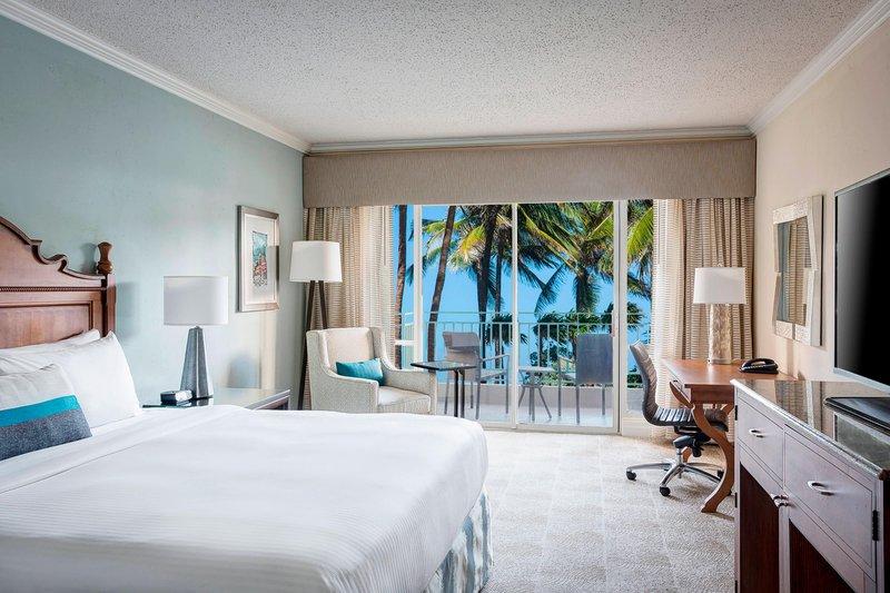 Marriott San Juan Resort - King Guest Room - Pool View <br/>Image from Leonardo