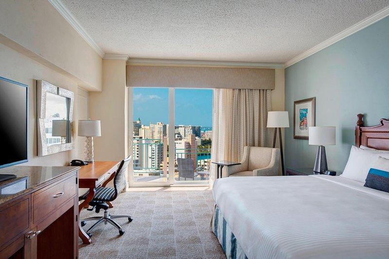 Marriott San Juan Resort - King Guest Room - City View <br/>Image from Leonardo