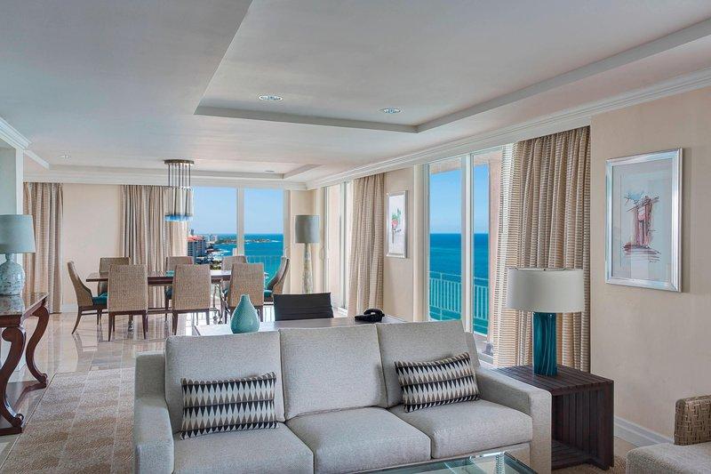 Marriott San Juan Resort - Presidential Suite Living Room <br/>Image from Leonardo