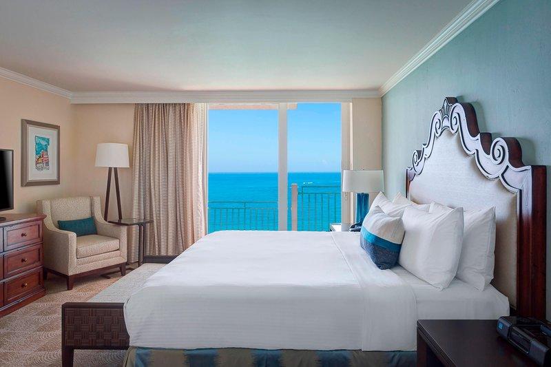Marriott San Juan Resort - Suite Bedroom <br/>Image from Leonardo