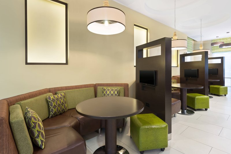 Courtyard by Marriott Kingston-Media Pods<br/>Image from Leonardo