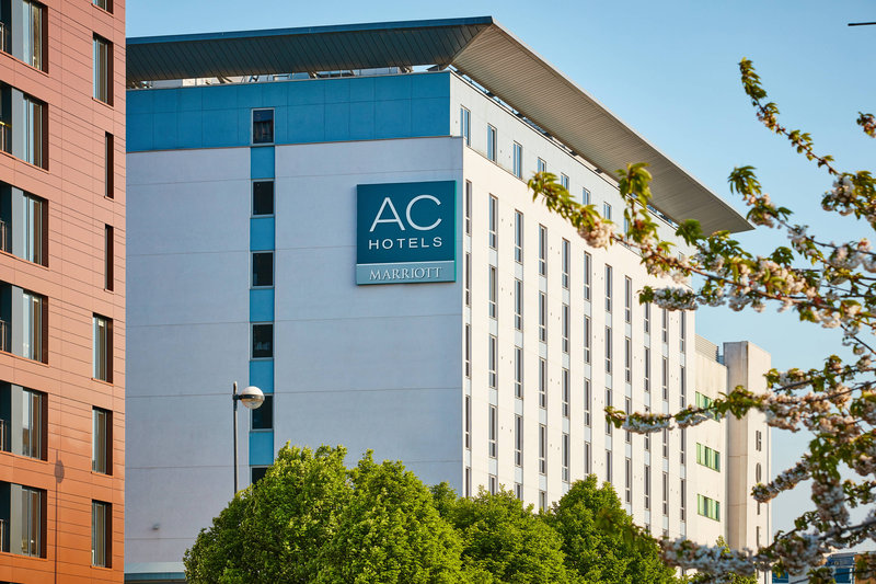 AC Hotel by Marriott Manchester Salford Quays-Exterior<br/>Image from Leonardo