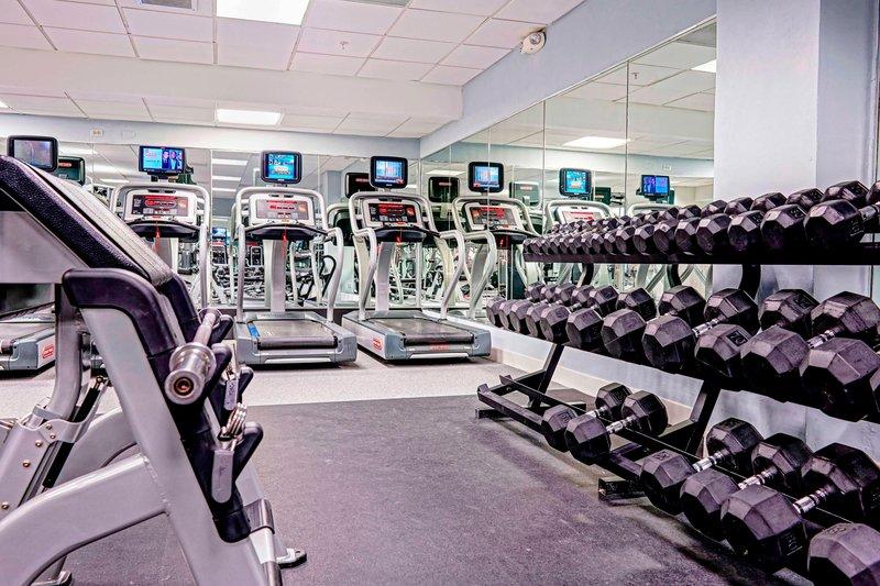 Marriott San Juan Resort - Ocean Club Fitness Center <br/>Image from Leonardo