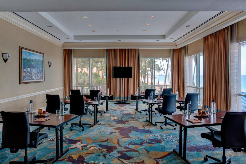 Marriott San Juan Resort - Atlantic & Miramar Meeting Rooms – Classroom Setup <br/>Image from Leonardo