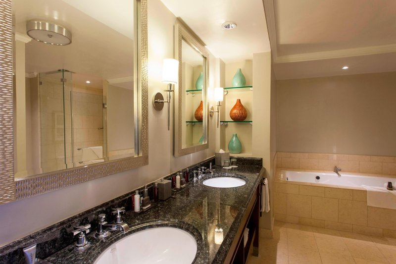 Marriott San Juan Resort - Suite Bathroom <br/>Image from Leonardo