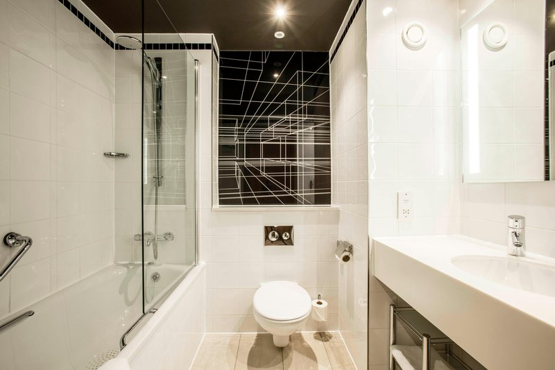 AC Hotel by Marriott Manchester Salford Quays-Guest Bathroom<br/>Image from Leonardo
