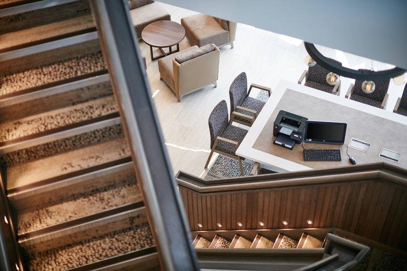 AC Hotel by Marriott Manchester Salford Quays-Media Desk<br/>Image from Leonardo