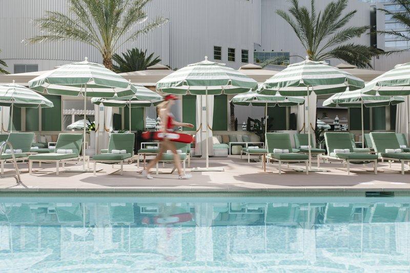 Park MGM Las Vegas - Park MGM Pool with Lifeguard <br/>Image from Leonardo