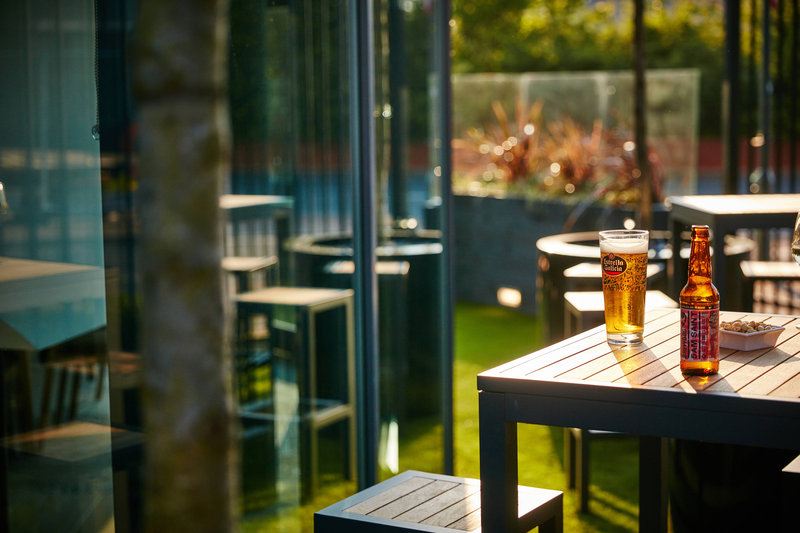 AC Hotel by Marriott Manchester Salford Quays-Outside Terrace<br/>Image from Leonardo