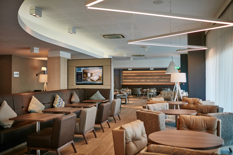 AC Hotel by Marriott Manchester Salford Quays-AC Lounge<br/>Image from Leonardo