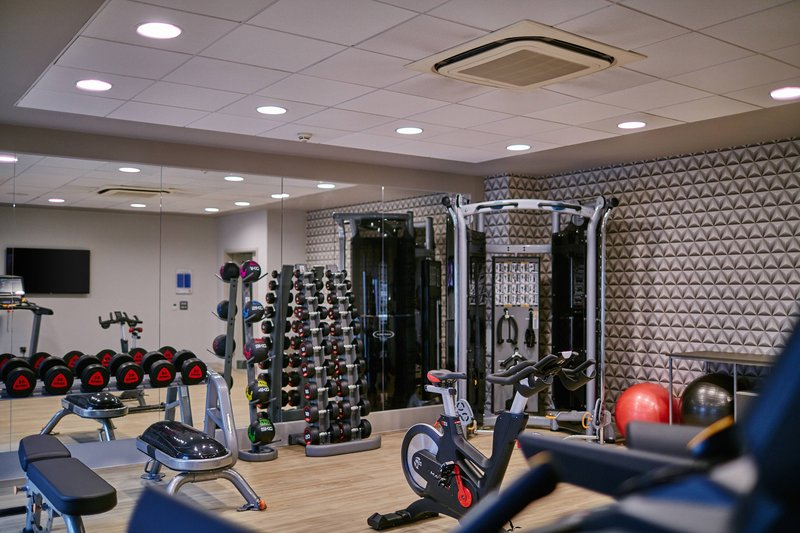 AC Hotel by Marriott Manchester Salford Quays-Fitness Centre<br/>Image from Leonardo