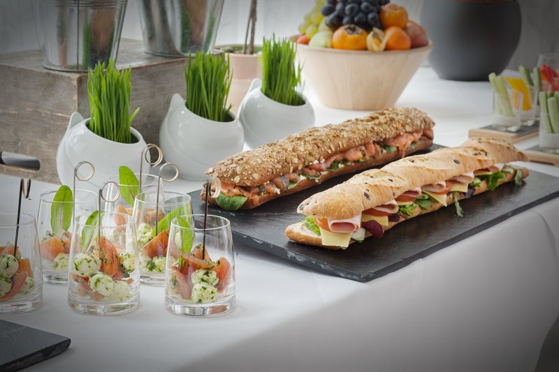 Holiday Inn Berlin Centre Alexanderplatz-Delicious snacks to keep energy levels up during seminars.<br/>Image from Leonardo