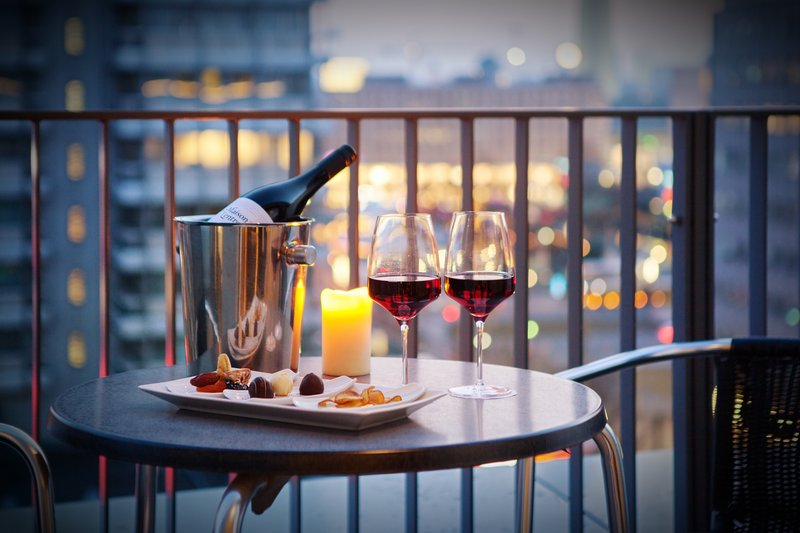 Holiday Inn Berlin Centre Alexanderplatz-The suite balcony, ideal for a nightcap with a Berlin backdrop.<br/>Image from Leonardo