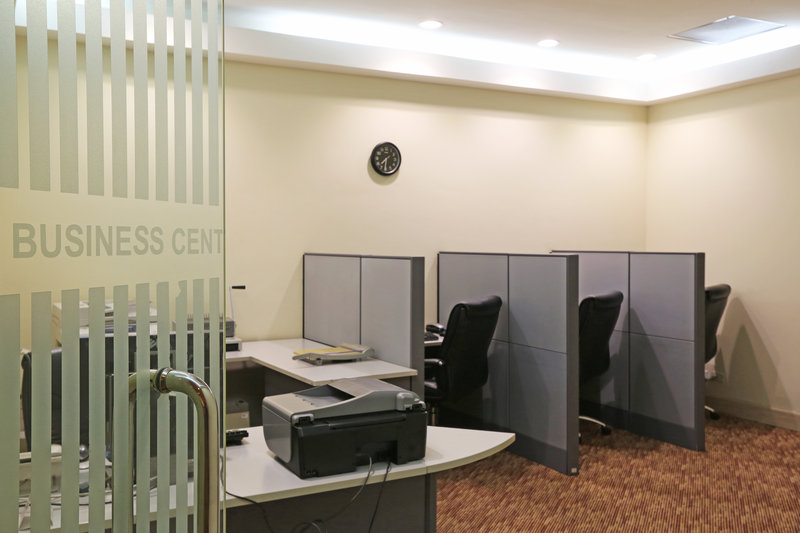 Intercontinental San Salvador - Metrocentro Mall-Business services are available any time of the day.<br/>Image from Leonardo