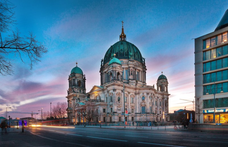 Holiday Inn Berlin Centre Alexanderplatz-Major sights like Berlin Cathedral are within easy reach.<br/>Image from Leonardo