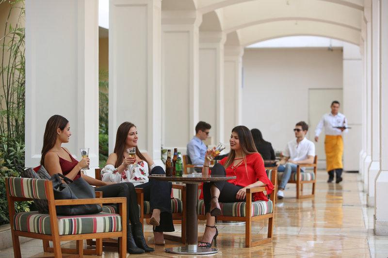 Intercontinental San Salvador - Metrocentro Mall-Guest Patio<br/>Image from Leonardo