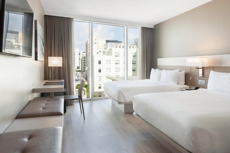 AC Hotel Miami Beach-Queen/Queen Guest Room<br/>Image from Leonardo